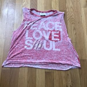 SoulCycle cropped top